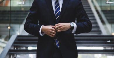 Vestir en la sesión de retrato corporativo
